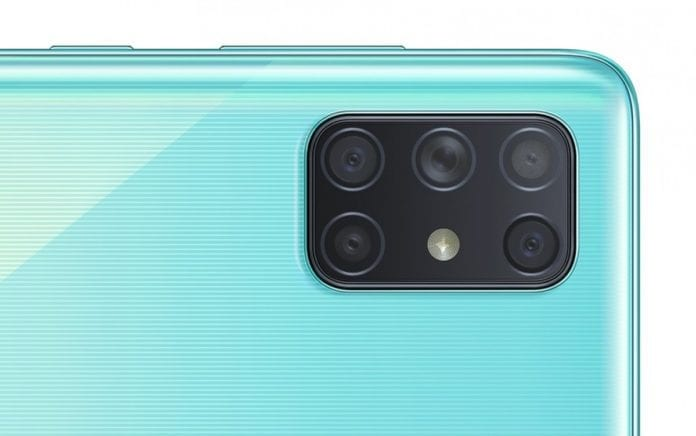 The Galaxy A72 could be Samsung's first penta-camera phone, A52