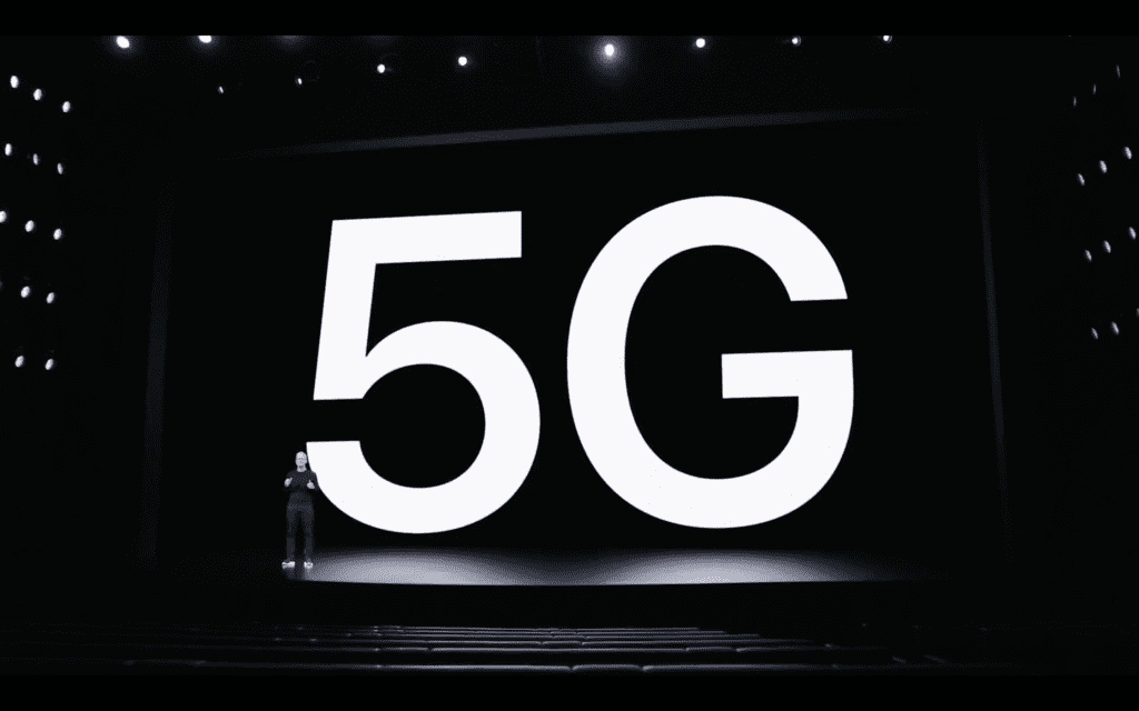 Apple 5G enabled