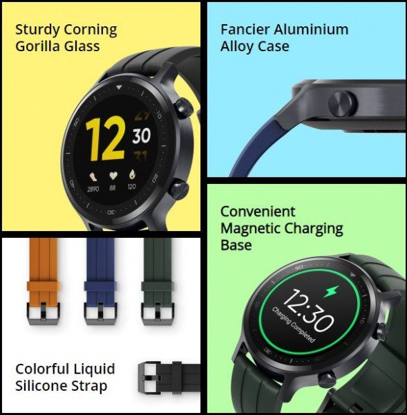 Realme Watch S officially released: 1.3 inch screen, IP68 rated, 15 days battery life