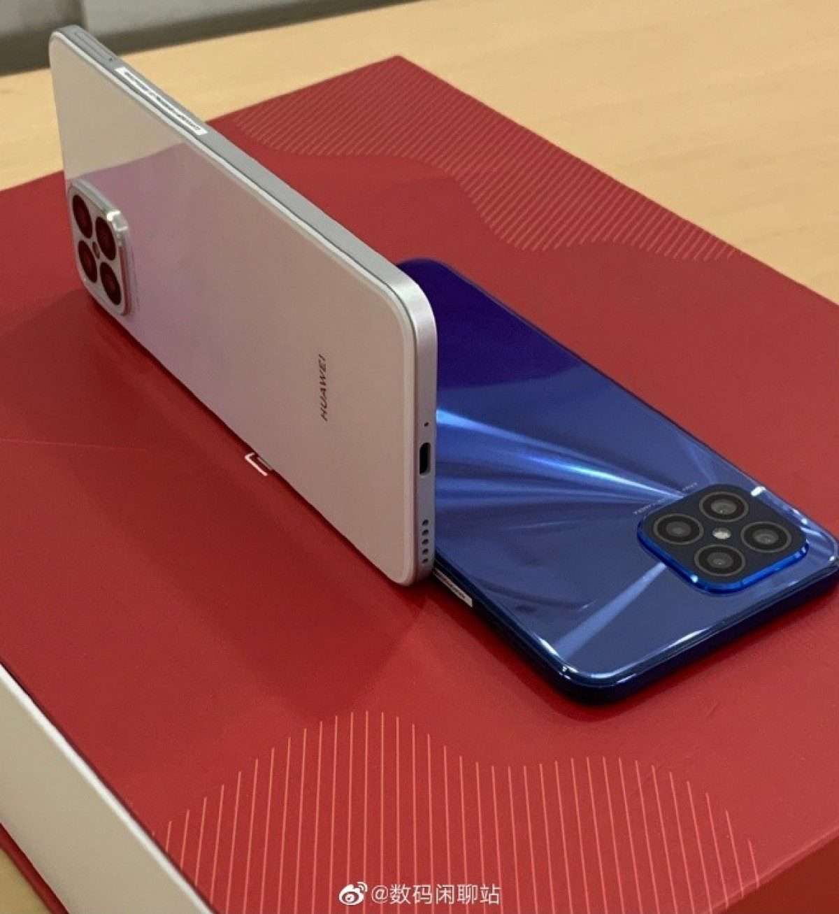 Huawei's nova 8 SE looks similar to the iPhone 12 and will be revealed in live photos