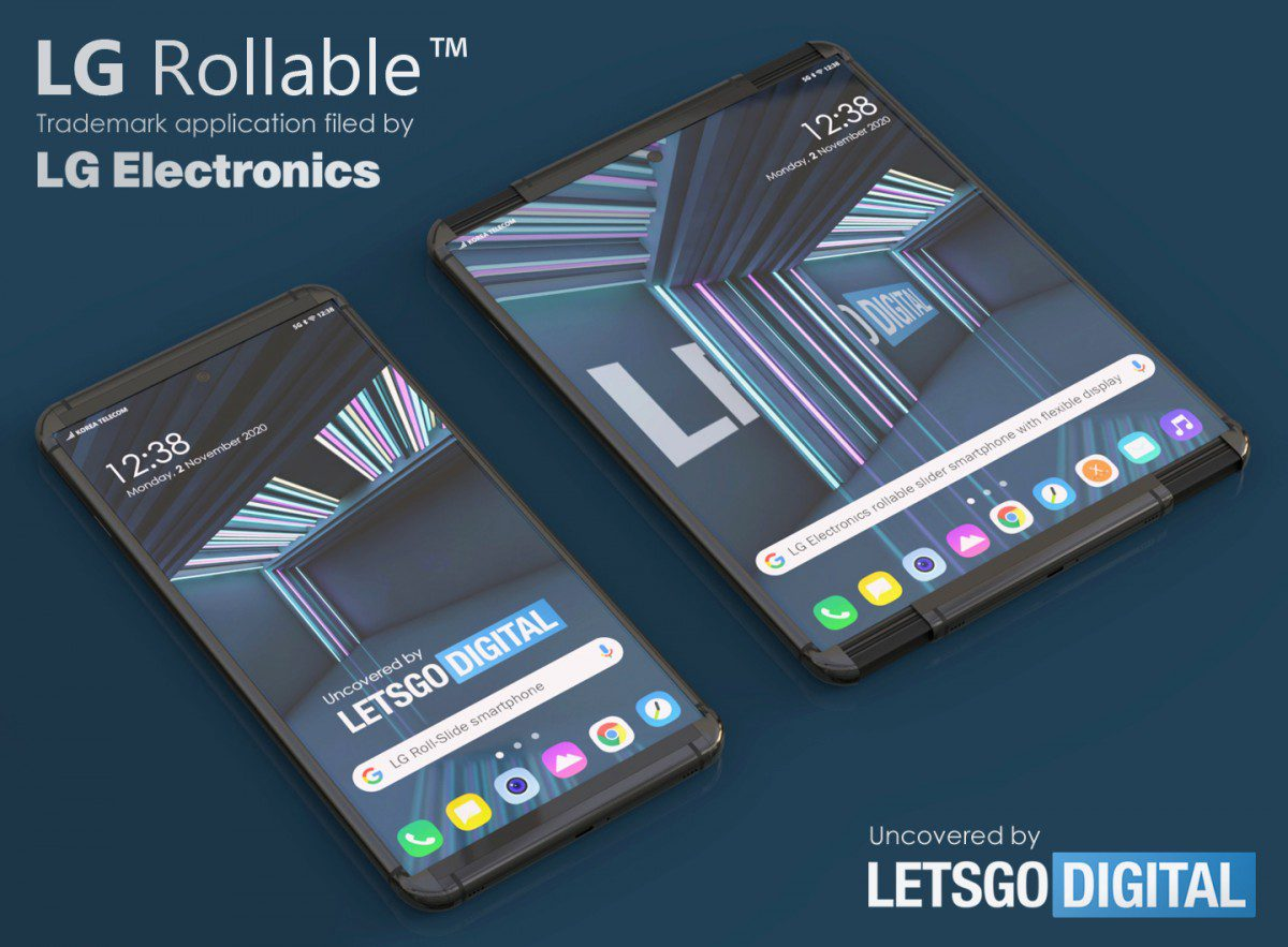 LG rollable smartphones can LG roll