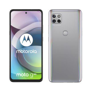 Moto g5g, Frost Silver and Volcanic Gray
