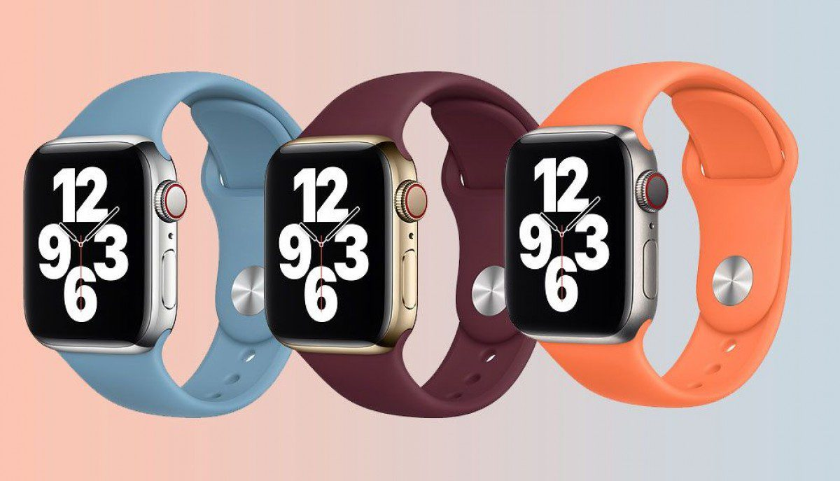 Apple adds three new colors to the Solo Loop and Sport Band Apple Watch bands