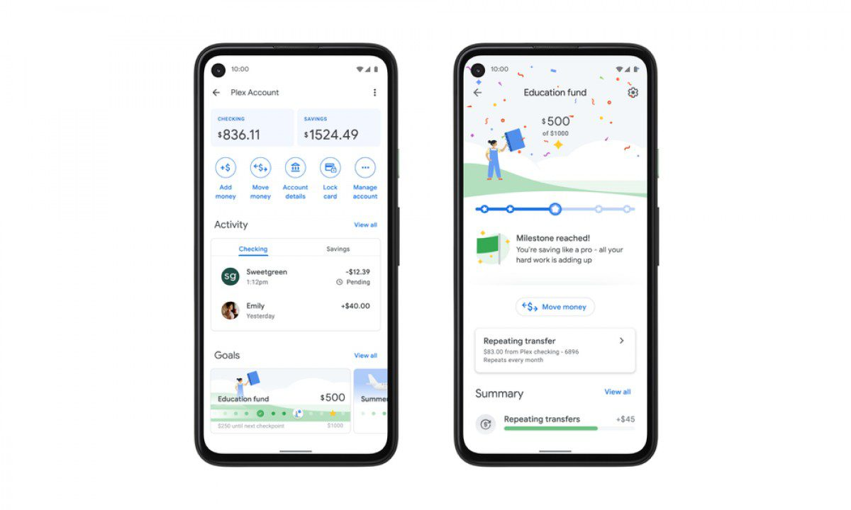 The new Google Pay looks like a chat app. Plex banking service launched in 2021