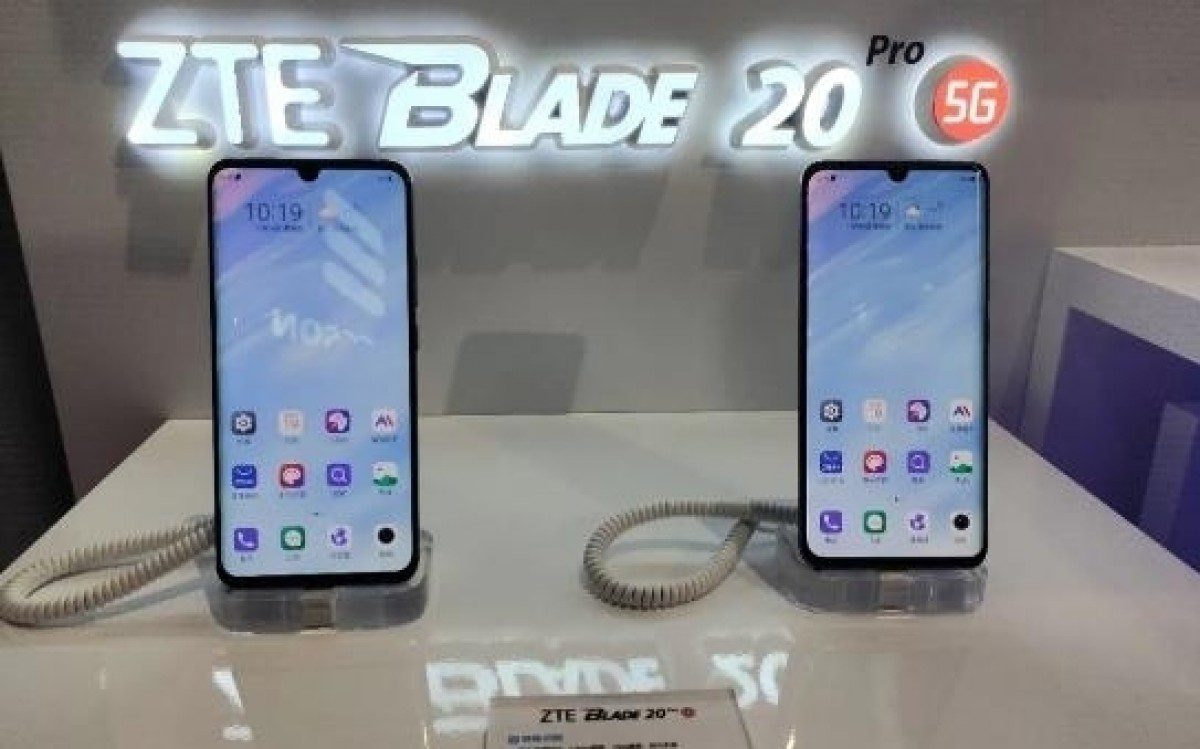 ZTE Blade 20 Pro 5G Surface with Snapdragon 765G Chipset