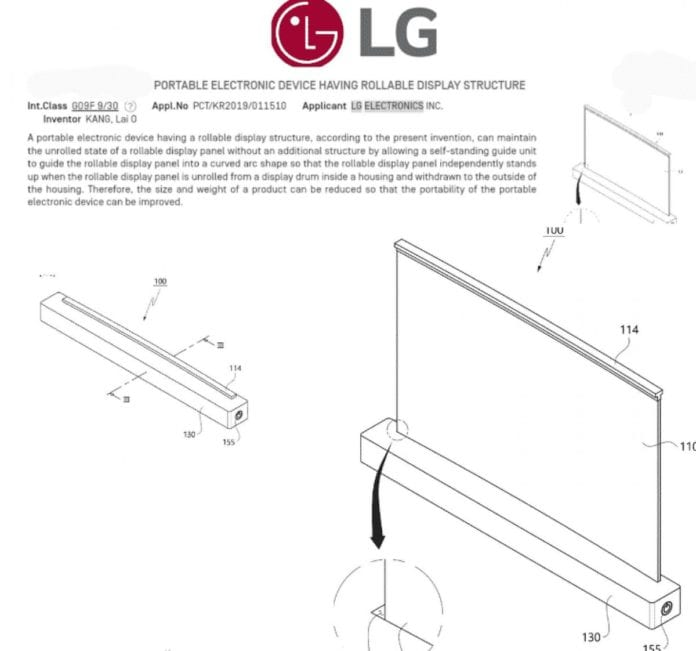 LG patents 17-inch laptop with rolling display -Techweu