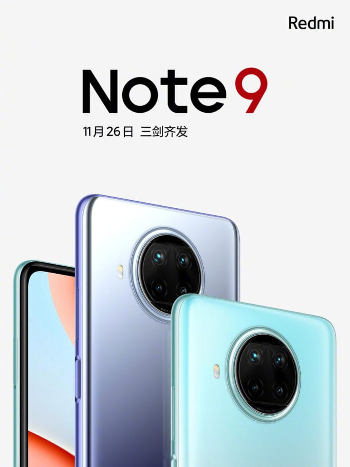 Redmi Note 9 series will be available on 26th November here the details -Techweu