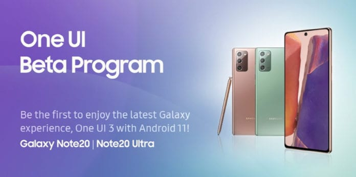 Samsung Galaxy Note 20 Series One UI3.0 Stable Release Nearing End of Beta Program