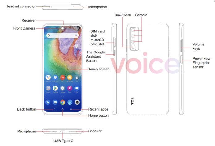 TCL205G specs and images leaked prior to the announcement, Here's Details-Techweu