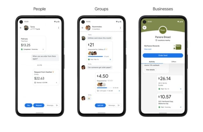 New Google Pay looks like a chat app
