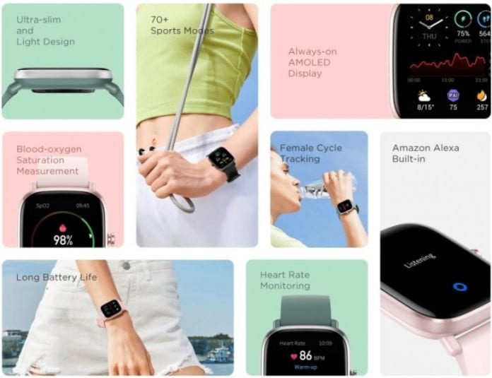 Amazfit GTS 2 mini launched in India for Rs 6,999-Techweu