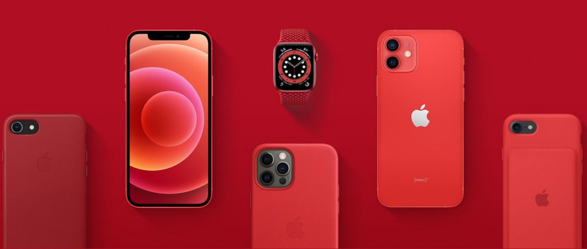 Apple's homepage will be transformed (RED) and revenue will be sent to COVID-19 relief until June 2021