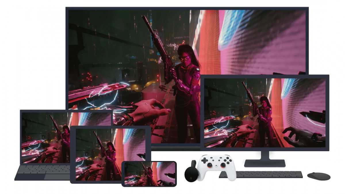 Google Stadia arrives in eight new countries in time for Cyberpunk 2077
