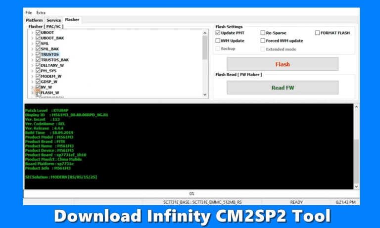 How to Download Infinity CM2SP2 Tool to Flash Firmware? – Techweu