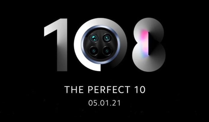 Xiaomi Mi 10i 5G first look tipped before the announcement