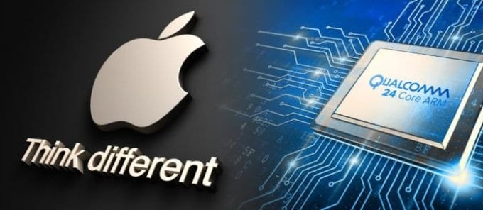 apple to drop qualcomm chip modems