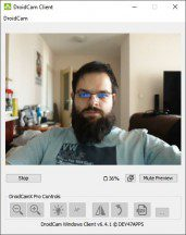 DroidCam Windows software - News 21 02 Android Webcam App Test review