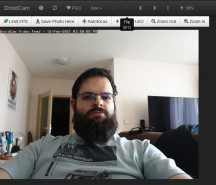 DroidCam web interface - News 21 02 Android Webcam App Test review