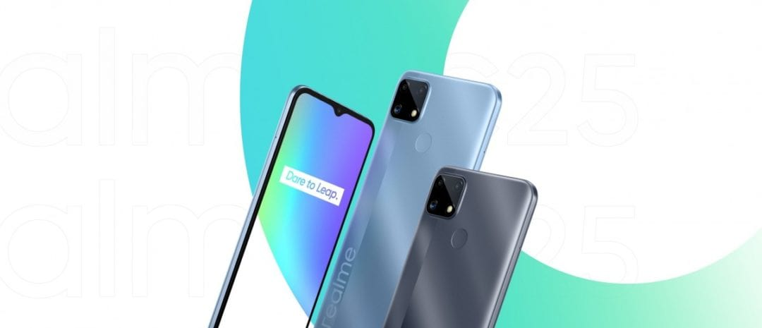 Realme C25 is official and sports 6000mah battery-Techweu