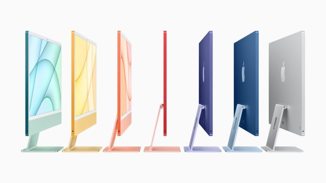 Apple iMac looks colourful with M1 Chip at $1299-Techweu