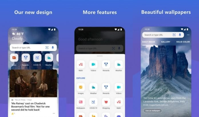 New UI updates changes and features pushed for OneDrive and Bing Android apps-Techweu