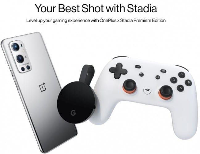 OnePlus to offer Stadia Premiere Edition for free on these smartphones-Techweu