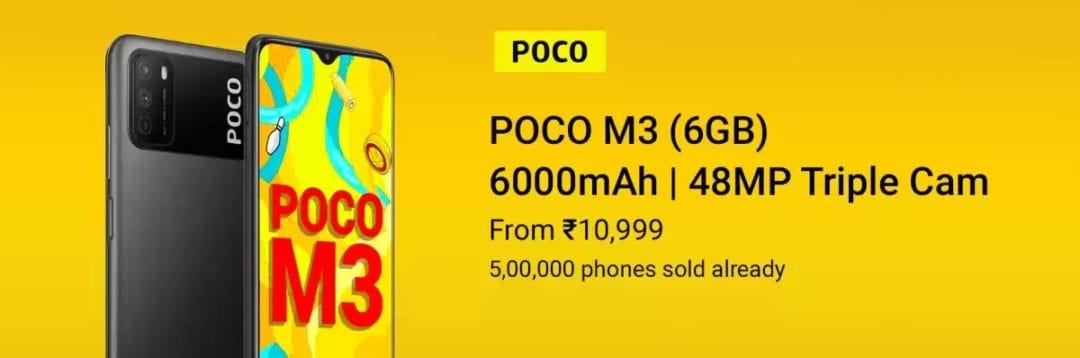 Poco M3 Pro will be available in India on June 8th-Techweu