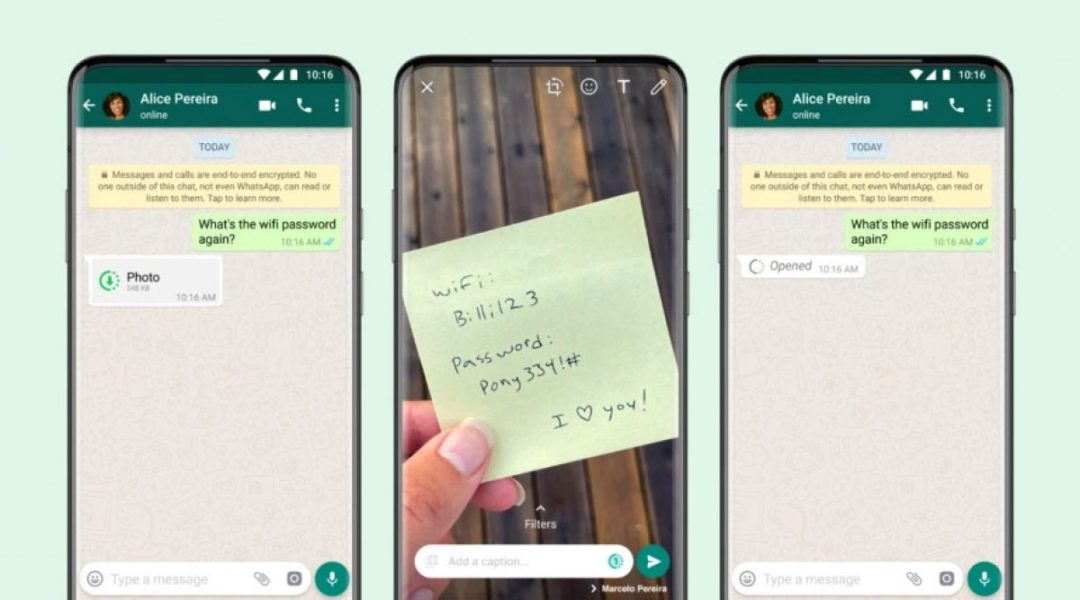"""WhatsApp gets new """"view once"""" photos and videos feature-Techweu"""